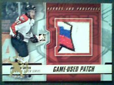 JONATHAN DROUIN 12/13 SUBWAY SUPER SERIES SEAMED GAME-USED PATCH /25 SP