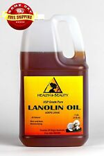 LANOLIN OIL USP GRADE by H&B Oils Center SKIN HAIR MOISTURIZING 100% PURE 7 LB