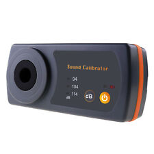 Sound Level Calibrator 114db 94db 104db For 12 132mm Microphone Size