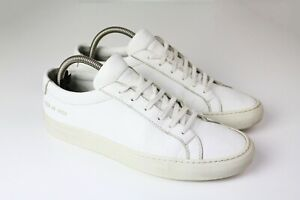 authentic COMMON PROJECTS Sneakers White Size 40 shoes