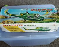 1960s MIC helicopter battery operated