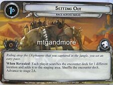 Lord of the Rings LCG - #047 setting out-race across Harad