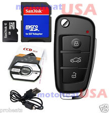 32GB HD 1080p Spy Car Keychain Cam Camera DVR IR Nigth Vision Motion Detection