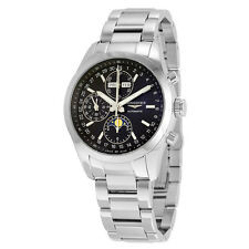 Longines Conquest Classic Black Dial Chronograph Moon Phase Mens Watch L27984526