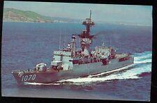 "U.S. Navy Frigate, ""USS Downes (FF-1070 (SH2 #114"