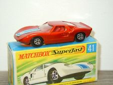 Ford GT - Matchbox Lesney Superfast 41 England in Box *32084