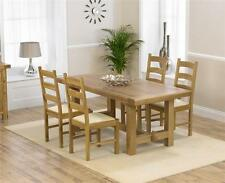 Rectangle Oak Contemporary Kitchen & Dining Tables