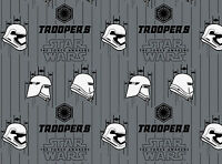 FAT QUARTER  STORM TROOPERS FABRIC  STAR WARS THE FORCE AWAKENS CAMELOT  COTTON