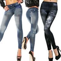 Hot Sexy Women Jean Skinny Jeggings Fashion Skinny Pants Stretchy Slim Leggings