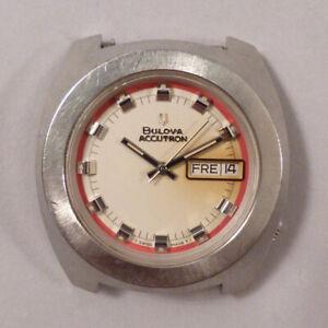 vintage BULOVA Accutron Armbanduhr 70er Jahre