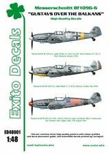 EXITO DECALS ED48001 - 1:48 Gustavs Over The Balkans - Messerschmitt Bf109G-6