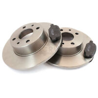 Brake Discs Brake Pads Front For Smart Fortwo Coupe 450 0.8 CDI