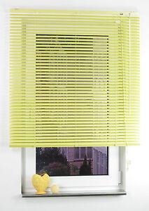 Aluminium Jalousie Young Colours, Auszugslänge 160 cm, Fenster Rollo Jalousette