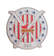 RAF Polish Air Force Siły Powietrzne 303 Squadron Pin Badge - MOD Approved