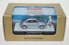 Wiking Volkswagen New Beetle on Ice Christmas Special 1999 1:87 in OVP (R2_3_22)