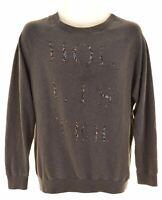 HOLLISTER Mens Sweatshirt Jumper Small Grey Cotton  IR01