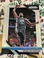 2018-19 Panini Prizm Kevin Durant Silver Prizm #252 Nets