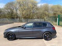 2019 19 BMW 1 SERIES 118I PETROL M SPORT SHADOW EDITION DAMAGED REPAIRED CAT S