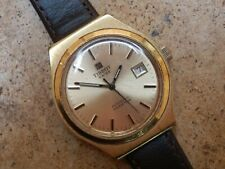 Tissot Automatic Seastar Gold Plated Watch