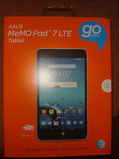 AT&T ASUS MeMo Pad 7 4G LTE GoPhone Prepaid Tablet- BRAND NEW & SEALED!!!
