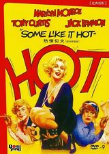 "NEW DVD  "" Some Like It Hot "" Marilyn Monroe, Tony Curtis"