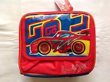 DISNEY PIXAR CARS LIGHTNING MCQUEEN LUNCHBAG NEW