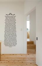 Psalms 91 He That Dwelleth Wall Sticker Mural Vinyl Decals Bible Verse 5ft