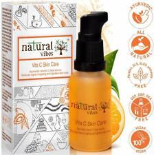 Natural Vibes Aryuvédico Vitamina C Cuidado de Piel Suero Facial 30ML