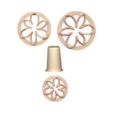 FMM  Sugarcraft Bridal Lily Cutter Set, Includes 3 cutters and 1 form