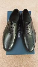Cole Haan Mens Madison Bal Wing II Black Dress Shoes Size 7 Wide New In Box
