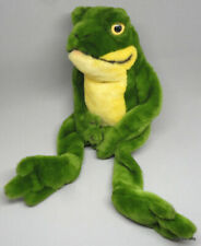 Steiff Cappy Dangling Frog Woven Fur Plush ID Button Tag 1986