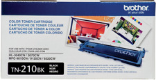 NEW GENUINE SEALED - BROTHER TN-210BK BLACK TONER CARTRIDGE - HL-3040 MFC-9320CW