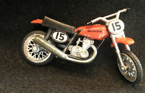 Vintage Ridge Riders Honda 15 Mini Dirt Bike Hong Kong Dirtbike Die Cast