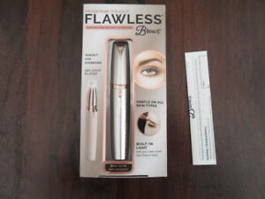 FLAWLESS BROWS ELECTRIC EYEBROW SHAPING MACHINE 18k GOLD PLATED
