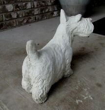 Concrete Scottish Terrier Statue, Memorial , Pet Grave Marker