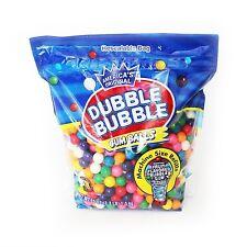 Dubble Bubble Gumball Refill 8 Flavors 3.3 lbs 680 Pieces Dubble Bubble