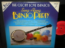 "The Geoff Love Banjos ""Sing Along Bingo Party"" Double LP"