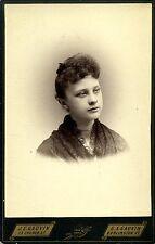 Vermont Cabinet Card Photo Teenage Girl