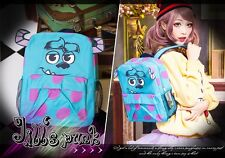 America street cartoon Monster university Sulley juvenile school backpack JN4068
