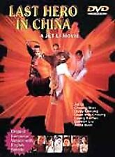 Last Hero in China (Dvd, 2000) Jet Li, Cheung Man, Gordon Liu, Sub-title: Englis