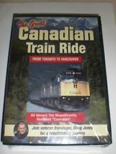 The Great Canadian Train Ride Toronto to Vancouver NEW