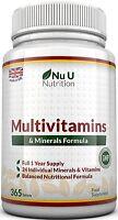 Multivitamins & Minerals Formula - 365 Tablets