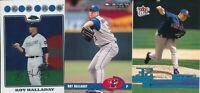 Roy Halladay Lot of 3 different Toronto Blue Jays baseball cards