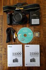 Nikon D3300 Camera - Shutter Count Under 300 - Amazing Condition *No Reserve*