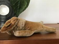Steiff Tier Hase RABBIT Floppy Hansi Knopf, Fahne 5527/17 17 cm sehr guter Zusta