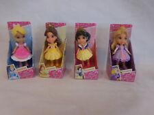 Disney Princess Mini Toddler Dolls 4 Includes Snow White Rapunzel  Belle Cindere