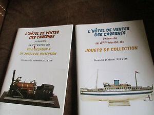 Lot catalogues-encheres-Spécial jouets,bd de collection ......estimation,prix...