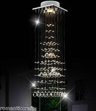 Modern Contemporary Luxuriant K9 Crystal Pendant Light Flush Mount Chandeliers