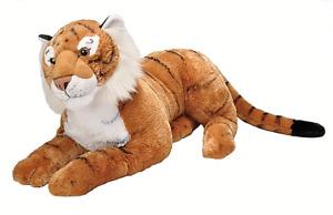 "~❤️~Wild Republic GIANT TIGER Large 30"" 76cm Soft Toy Plush Animal BNWT❤️"