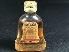 Mignonnette mini bottle non ouverte , whiskey whisky BELL'S
